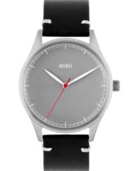 grey black miro watches