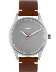 grey chocolate miro watches