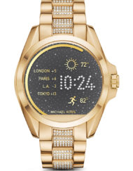 Michael Kors Access Bradshaw Guld Clear Pave MKT5002