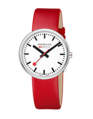 Mondaine mini giant röd