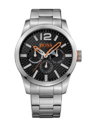 Hugo Boss Orange Paris Stålklocka Svart urtavla 1513238