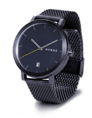 hygge watches 2203 black mesh