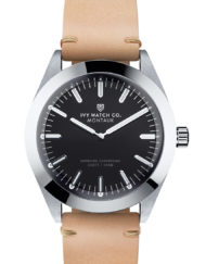 ivy watch tan leather