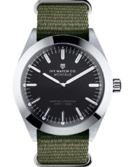 ivy watch green nato