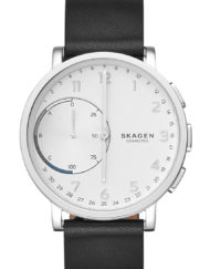Skagen connected läderband